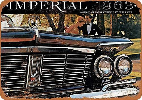 Lorenzo Chrysler Imperial Automobiles Vintage Metal Vintage Metallblechschild Wand Eisen Malerei Plaque Poster Warnschild Cafe Bar Pub Bier Club Dekoration