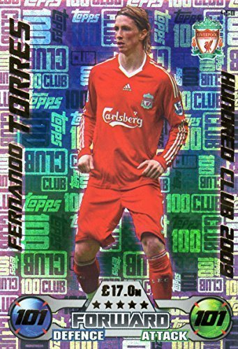 2016/17 MATCH ATTAX 100 VEREIN FERNANDO TORRES HUNDRED VEREIN LEGENDE KARTE 200 #458