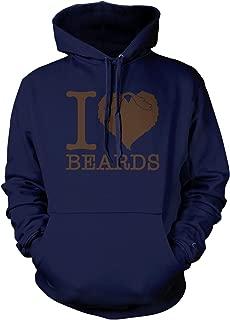Men's I Love Beards Hooded Sweatshirt