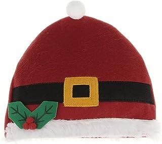 C-Princess 子供 キッズ用 サンタ帽子 クリスマスハット ヘッドドレス サンタクロース 仮装 コスプレ コスチューム用小物 可愛い イベント パーティー