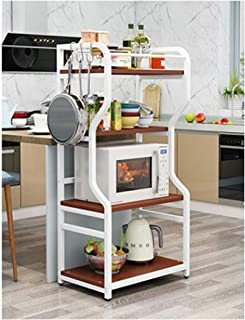 KOKOF Étagère de cuisine four micro-ondes rack de stockage de plancher multicouche type de plancher de cuisine artefact fo...