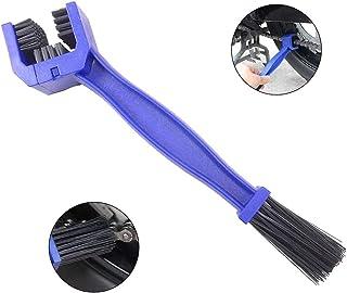 Voarge Ketten Reinigungsbürste kettenbürste zur Reinigung der Kette von Bikes und Moto Bike Kettenreinigern (blau)