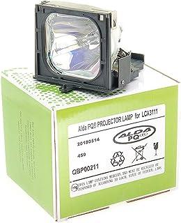 Alda PQ-Premium, beamerlamp/reservelamp voor PHILIPS LC4441 projectoren, lamp met behuizing