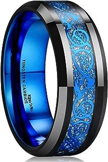 Best blue tungsten wedding ring Reviews