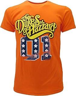 The Duke of Hazzard T-Shirt Originale Maglia Serie TV Generale Lee 01 Maglietta Prodotto Ufficiale
