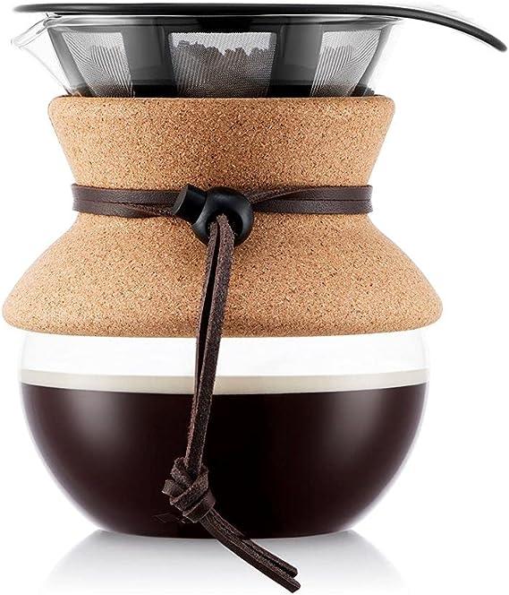 Bodum Pour Over Coffee Maker, 17 Ounce, Cork Band