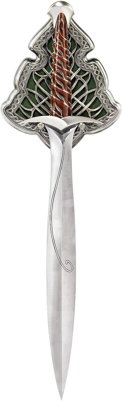 Der Hobbit Bilbos Film Schwert Stich als Dekoausgabe 1 1 Modell mit Wanddisplay 56cm lang lizenziert