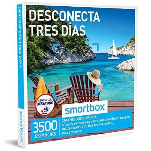 Smartbox - Caja Regalo -DESCONECTA Tres DÍAS - 3500 estancias en hoteles de hasta 4* y alojamientos Rurales