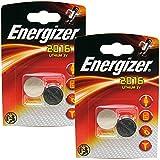 Multi pack - 4 Energizer CR2016 3v Lithium Knopfzelle Batterien