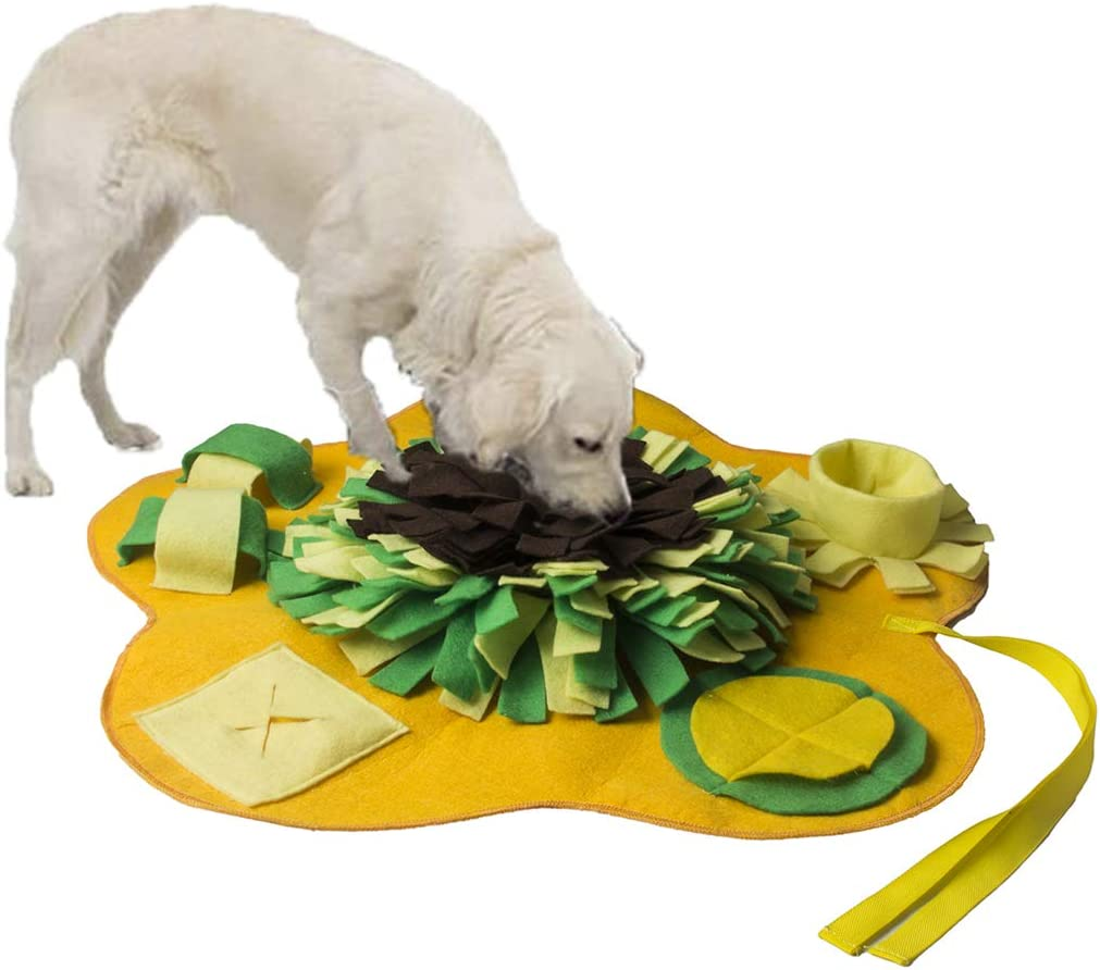 Low price vocheer Dog Snuffle Mat Large-scale sale Pet Foraging Sniff Feeding Training