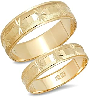 Best discount white gold wedding rings Reviews