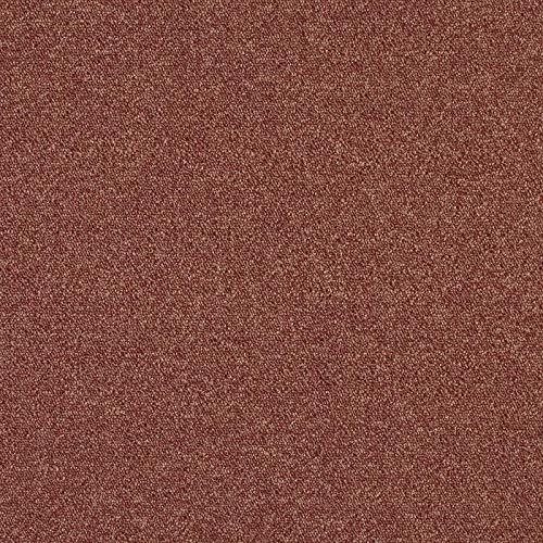 Teppichfliesen Heuga Le Bistro| Selbstliegend Bodenfliesen Teppich | 50x50 cm | Pro Karton = 4m2 / 16 Stück… (Salsa)