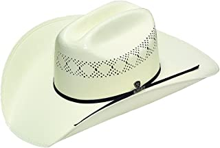 long oval straw cowboy hats