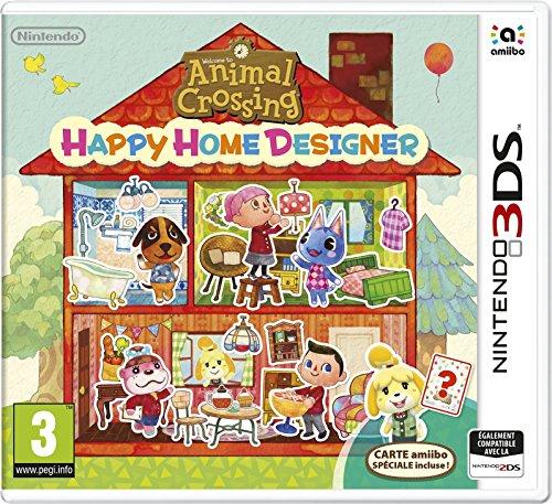 Animal Crossing : Happy Home Designer + 1 Carte Amiibo 'Animal Crossing'