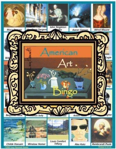 Lucy Hammett 8177 American Art Bingo
