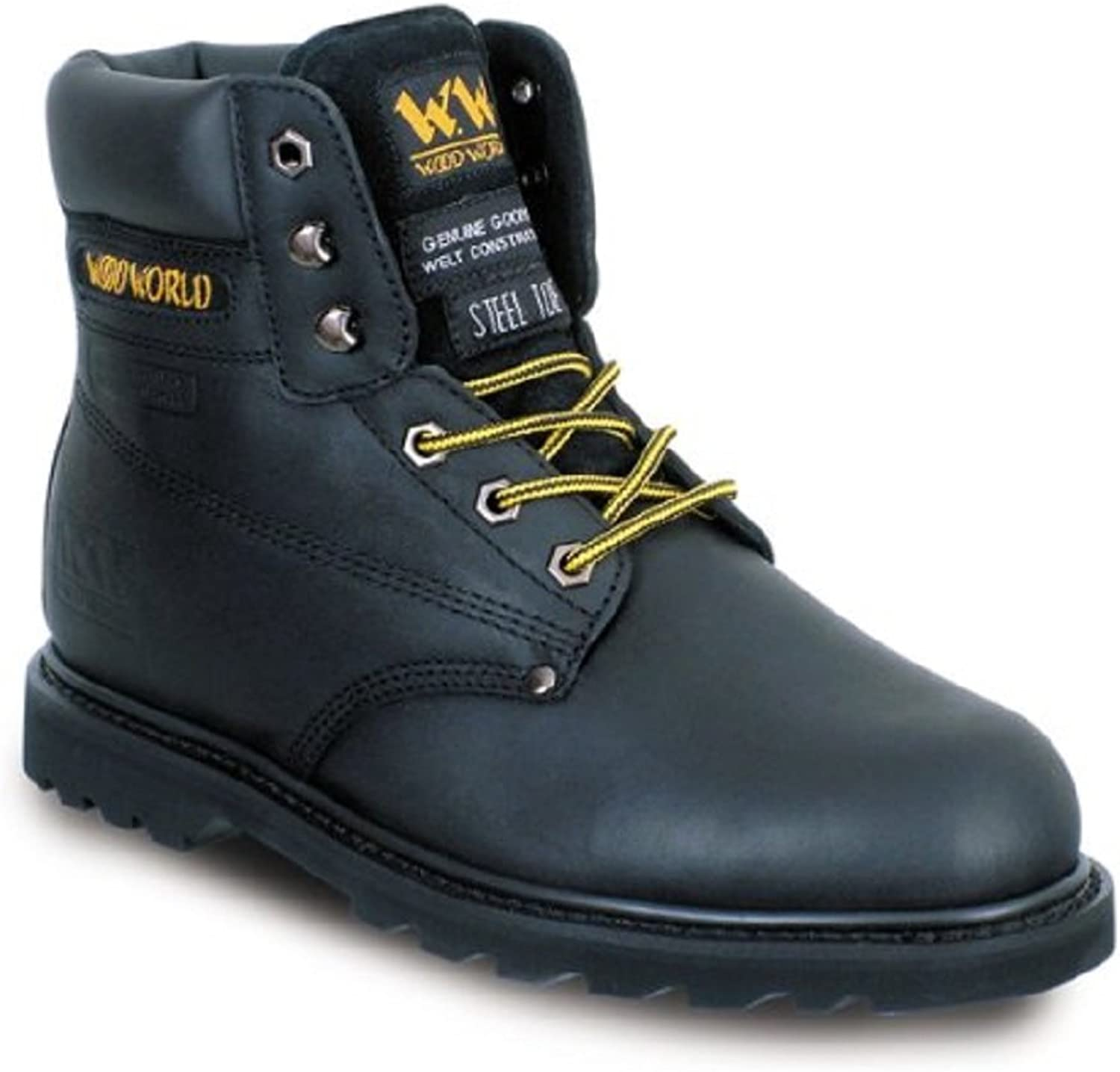 Wood World Unisex Adult 2HP Safety Boots
