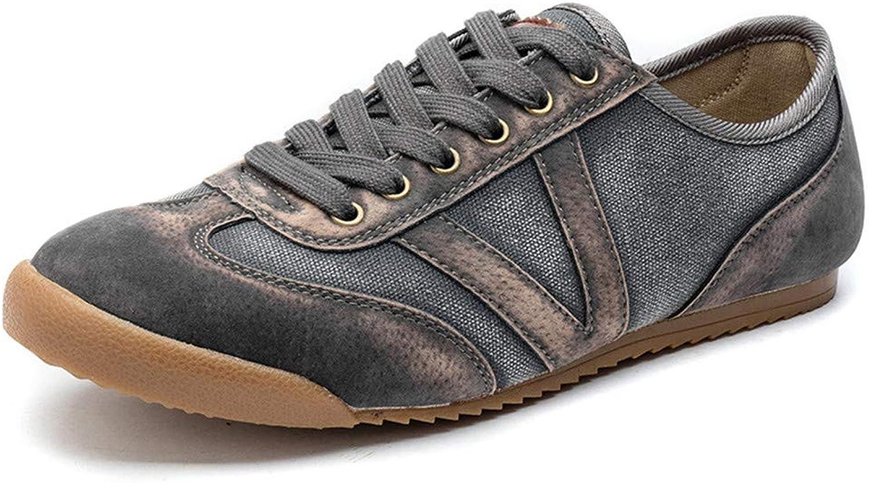 SchuheDQ Casual Herrenschuhe Canvas grau Four Seasons kann Board Schuhe tragen Freizeit