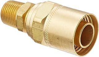 1//8-27 NPTF Male 1//4 Hose ID 1//2 Hose OD 1//8-27 NPTF Male 1//4 Hose ID 1//2 Hose OD Eaton Hansen 1B3 Brass Compression Hose Clamp