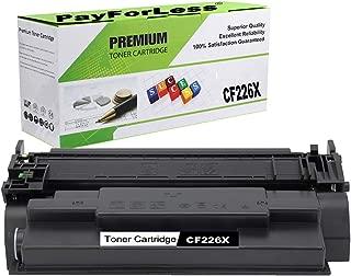 PayForLess Toner Cartridge for HP 26X CF226X Black 1PK Compatible for HP Laserjet Pro M402N M402DN M402 M402DW M402D HP Laserjet Pro MFP M426FDW M426FDN M426 M426DW HP26A CF226A 26A