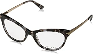 Guess Ladies Grey Cat Eye Eyeglass Frames GU2683