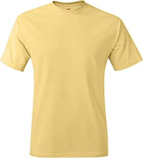 Hanes 6.1 oz. Tagless T-Shirt (5250T), Orange, XL