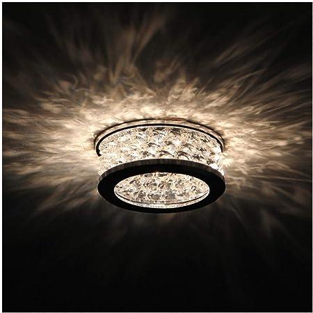 KOSILUM - Spot encastrable design en cristal - Bech - Lumière Blanc Chaud Eclairage Salon Chambre Cuisine Couloir - 1 x 50W - - GU10 - IP20