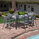 """Hanover Naples 7-Piece Outdoor Dining Set 