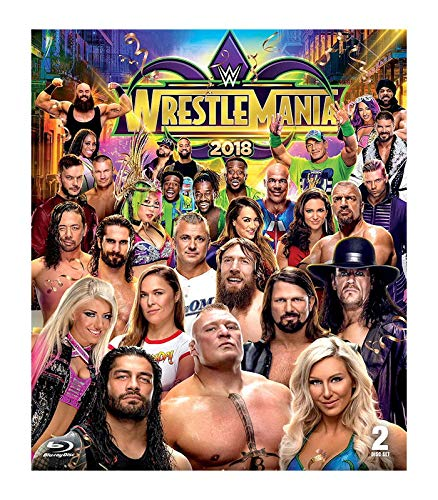 WWE: WRESTLEMANIA 34 - WWE: WRESTLEMANIA 34 (2 BLU-RAY)