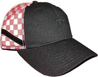 Sidestripe Court Trucker Hat Checkerboard Black White Red