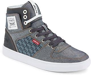 Levi's Mens Mason Hi Denim Fashion Hightop Sneaker Shoe