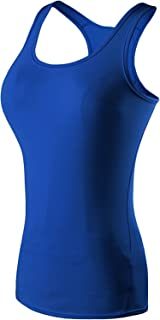 The Blazze Women's Yoga Tank Top Compression Racerback Top Baselayer Quick Dry Sports Runing Vest