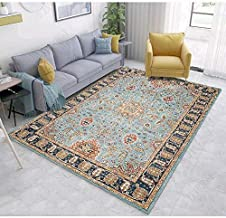 Meet Heavy-Duty Thick Traditional Area Rugs Oriental Distressed Rugs Vintage Carpet for Living Rooms and Open Spaces,v,3'9...