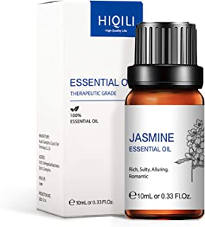 Jasmine Essential Oil,Natural Jasmine Oil for Diffuser Massage Body Skin Hair Care Fragrance- 10ml