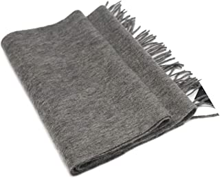 State Fusio Wool Cashmere Solid Color Scarf with Fringes