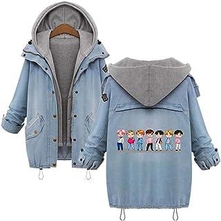 Monsta X Pullover Casacca Spesso Strato Casual Fashion Classic Slim Slim Outerwear Coreana Spessore a Maniche Lunghe Felpa...