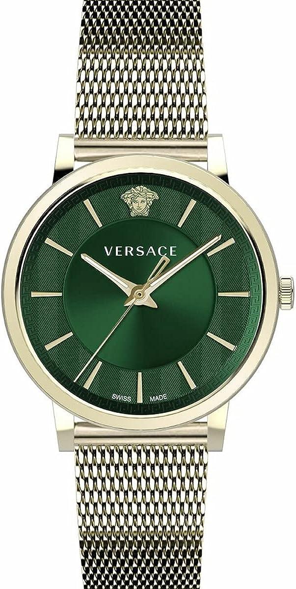 Versace VE5A00820 V-Circle Heren horloge 44 mm