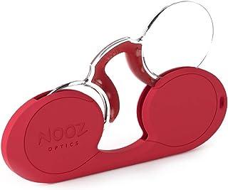 Nooz Optics Armloze Leesbril - Ovale Vorm - 6 kleuren en 5 correcties - Vergrotende Lezers voor Mannen en Vrouwen - Origin...