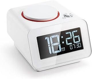Amazon com: ihome alarm clock with charging dock