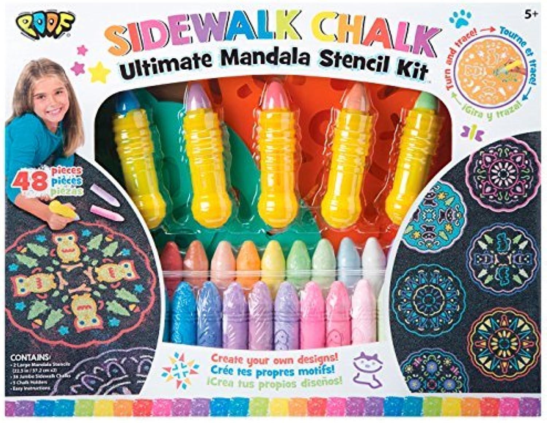 POOF Ultimate Chalk Mandala Set by POOF