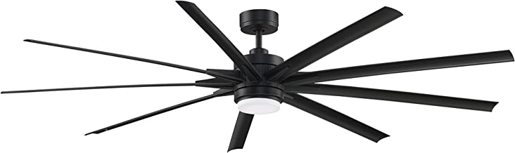 Fanimation FPD8159BLW Odyn Ceiling Fan with LED Light Kit, 84