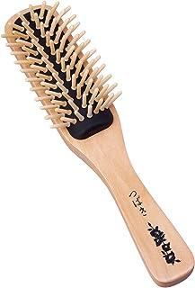椿油のつげブラシ 髪の毛 ヘアブラシ ブロー さらさら 伊豆利島産 国産