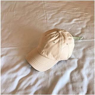 Hats Visor Baseball Cap Hat Female Summer Embroidery Letter Cap Fashion (Color : Beige, Size : F/56-59cm)