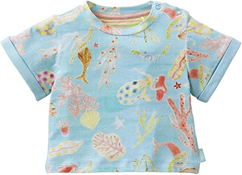 Oilily Tail T-Shirt Imprimé Mermaids and Corals