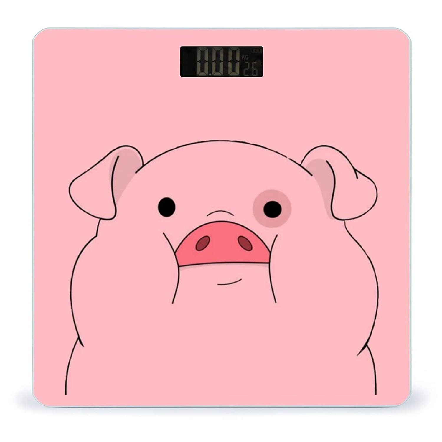 Waddles-Pink PigWeight Scale Digital Direct stock discount Over item handling ☆ Battery-Powered Digita Body