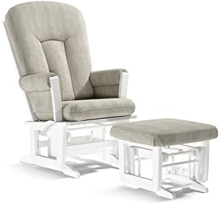 Dutailier Rose 2817 Glider Multiposition-Lock Recline with Ottoman