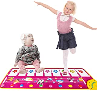 YAZOM Piano Musical Mat for Baby Toddler, Early Educational