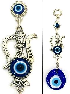 Perlin Nazar Boncuk, Boncugu, Türkisch Blau, Evil Eye, 18cm