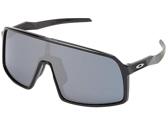 Oakley Sutro (Polished Black w/ Prizm Black) Fashion Sunglasses