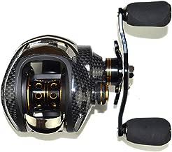 Lixada Baitcasting Reel 17+1 Ball Bearings Baitcast Fishing Reel 7.0:1 Bait Casting Reels Left/Right Hand with Dual Brake System & Luxury Paint Fish Reel