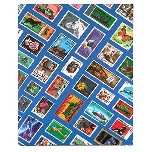 goldbuch - Briefmarkenalben in Blau, Größe 23x30 cm